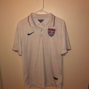 Team USA men's soccer polo Nike large